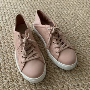ALDO pink nude sneakers size 7